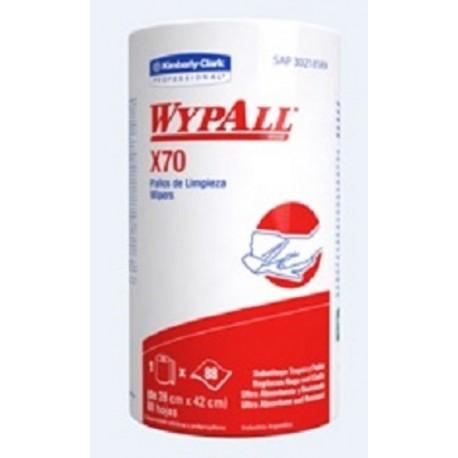 WYPALL X 70 ROLLO X 88 PAÑOS